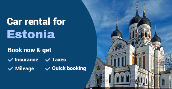 Car rental for Estonia